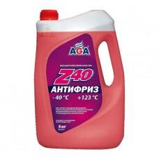 AGA-002Z 40 Антифриз (красный) -40С до +123С PREMIX 5кг