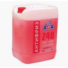 AGA-003Z 40 Антифриз (красный) -40С до +123С PREMIX 10л