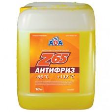 AGA-044Z 65 Антифриз (желтый) -65С до +132С 10л./10,7кг. PREMIX