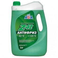 AGA-049Z 42 Антифриз (зеленый) -42С до +123С /5,3кг.PREMIX