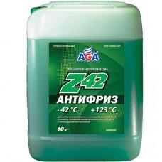AGA-050Z 42 Антифриз (зеленый) -42С до +123С 10л/10,7кг. PREMIX