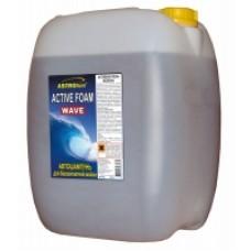 Автошампунь для бесконтактной мойки, концентрат'Active foam wave' , 'АСТРОХИМ' Ac-433 канистра  20л