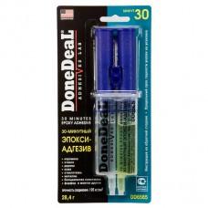 DD6565 30-мин. 2-комп. прозрачный эпокси-адгезив в шприце 28,4г
