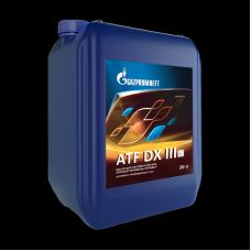 Масло трансмиссионное Gazpromneft ATF DX III, канистра 20л