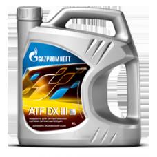 Масло трансмиссионное Gazpromneft ATF DX III, канистра 4л