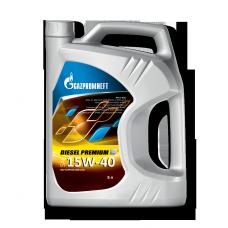 Масло моторное Gazpromneft Diesel Premium 15W-40, канистра 5л