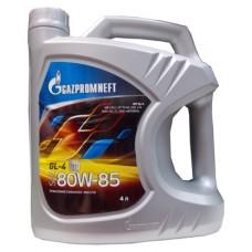 Масло трансмиссионное Gazpromneft GL-4 80W85, канистра 4л
