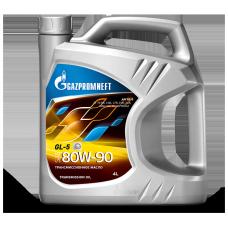 Масло трансмиссионное Gazpromneft GL-5 80W90, канистра 4л