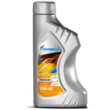 Масло моторное Gazpromneft Premium L 10W-40, канистра 1л