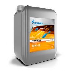 Масло моторное Gazpromneft Premium L 10W-40, канистра 20л