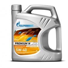 Масло моторное Gazpromneft Premium N 5w40, канистра 4л