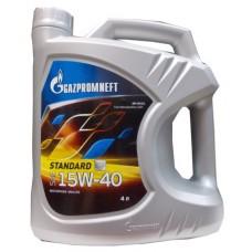Масло моторное Gazpromneft Standart 15W-40, канистра 4л