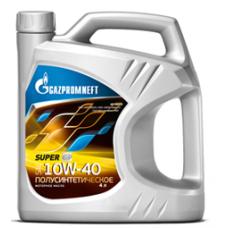 Масло моторное Gazpromneft Super 10W-40, канистра 4л
