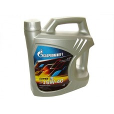 Масло моторное Gazpromneft Super 15W-40, канистра 4л