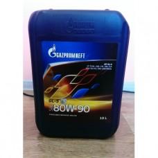 Масло трансмиссионное Газпромнефть Супер Т-2 80w90 GL-5 мин. 10л
