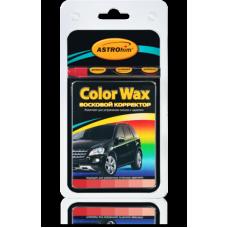 Корректор восковой (карандаш) белый  'Color Wax ' , 'АСТРОХИМ'  Ac-0221 к-т в блистере (корректор +3 салфетки)