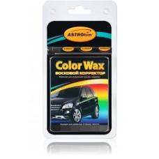 Корректор восковой (карандаш) черный' Color Wax', 'АСТРОХИМ' Ac-0146 к-т в блистере (корректор +3 салфетки )