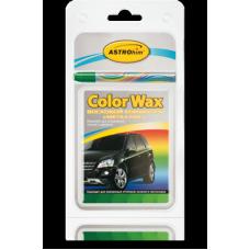 Корректор восковой (карандаш) зеленый металл  'Color Wax ' ,'АСТРОХИМ' Ac-0273 к-т в блистере (корректор+3 салфетки)