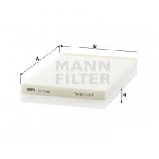 Фильтр салонный Mann CU1936  (Nissan Qachqai >07, X-Trail >07)