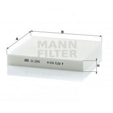 Фильтр салонный Mann CU2345 (Nissan Almera II >00, Almera Tino >00, Primera III >02, Tino >99)