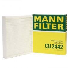 Фильтр салонный Mann CU2442 (Opel Astra J, Chevrole Cruze)