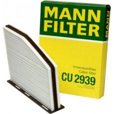 Фильтр салонный Mann CU2939 Audi, Skoda Octavia, Yeti, VW
