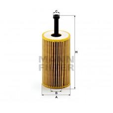Фильтр маслянный Mann HU612х (Citroen Berlingo I >97, C2 >03, C3 >01, Saxo 96-05, Xsara 97-05, Xsara Picasso >00, Pe)