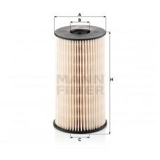 Mann PU825x фильтр топливный