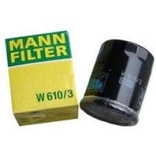 Фильтр маслянный Mann W610/3  ALFA ROMEO MiTo, CITROEN C-Crosser, FIAT 500 / Nuova 500 (150), FIAT Albea (172), FIA