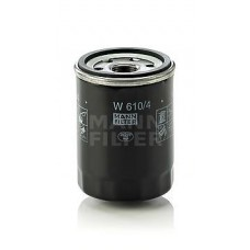Фильтр масляный Mann W610/4 (Nissan Micra 00-09, Note >06, Primera I 90-96, Sunny 90-96)