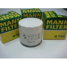 Фильтр маслянный Mann W7008 (FORD 1,4, 1,6, 1,6EcoBoost C-MAX 07-10, C-MAX II 10-, Fiesta VI 08-, Focus II, III 04-,)