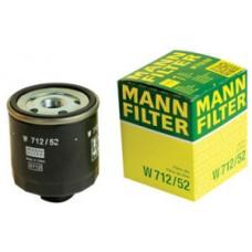 Фильтр маслянный Mann W712/52 (VAG all models > 91)