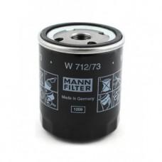 Фильтр масляный Mann W712/73 (Ford C-max >07, Fiesta V >05, Focus II >04, Galaxy II >06, Mondeo III, IV >00, S-Max)