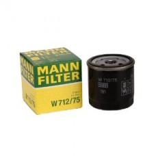 Фильтр масляный Mann W712/75 (CHEVROLET EUROPE / DAEWOO (GM) Volt, Europa S, Ampera, Astra G / Astra G Cabrio/Coup