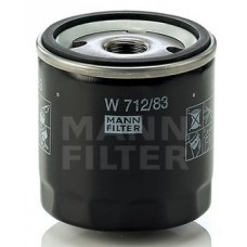 Фильтр маслянный Mann W712/83 (LEXUS ES, GS, GX, IS + IS SportCross, LS, LX, RX, SC, MINI (BMW GROUP