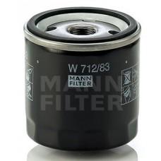 Фильтр маслянный Mann W712/83 (LEXUS ES, GS, GX, IS + IS SportCross, LS, LX, RX, SC, MINI (BMW GROUP