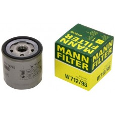 Фильтр маслянный Mann W712/95 (AUDI A3 12-, Skoda Octavia III 01/13-, VW Golf VII 11/12- - all 1,2-1