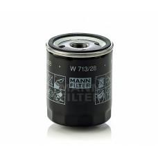 Mann W713/28 фильтр масляный