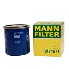 Mann W716/1 фильтр масляный