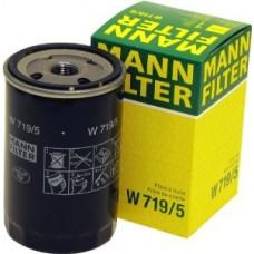 Фильтр масляный Mann W719/5 (AUDI 100 (44, C3), 100 (4A, C4), 100 (F104, 43, C1+C2), 200 (43, 44), 50)