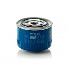 Фильтр масляный Mann W914/2  ВАЗ 2108