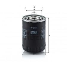 Mann W933/1 фильтр масляный