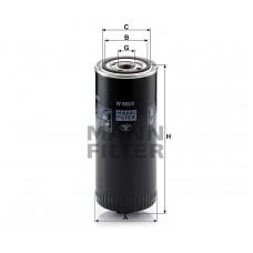 Mann W962/2 фильтр масляный