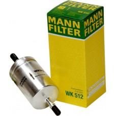 Фильтр топливный Mann  WK512 (OPEL ASTRA G >98,ALFA ROMEO 145 94-01, 146 94-01, 155 92-97, AUDI A2 00-05, A3 >03, CAD