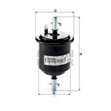 Mann WK55/1 фильтр топливный