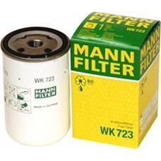 Фильтр топливный Mann  WK723(10) группова уп. (FORD F-Serie (BR), KAMAZ 4000-Serie, 6000-Serie, VOLVO BUS B10, B12, )