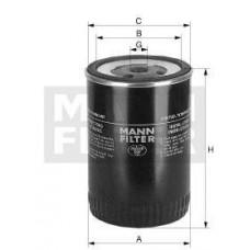 Фильтр топливный Mann WK950/3 (ATLAS-COPCO PT/PTHS/PTS-Serie, CATERPILLAR CB / CC / CD - Tandem-Walzen / Rollers, D)
