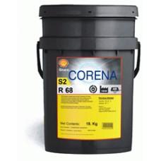 Масло индустриальное SHELL Corena S2 R68  20L