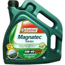 Масло моторное Castrol MaGnatec Diesel 5W40 DPF 4л. синт.