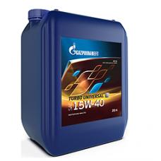 Масло моторное Gazpromneft Turbo Universal 15W-40, канистра 20л